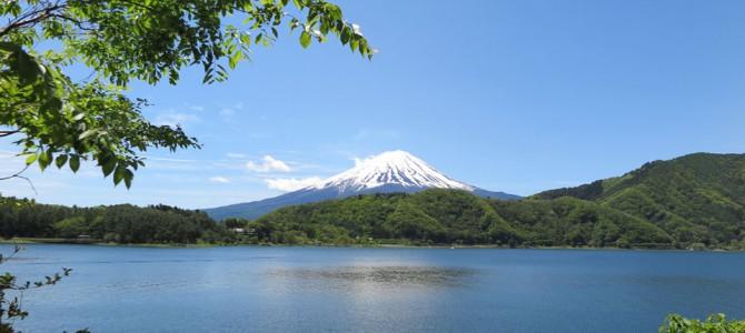 富士山を見に河口湖へ ほうとう不動さんは美味でした!(^^)!