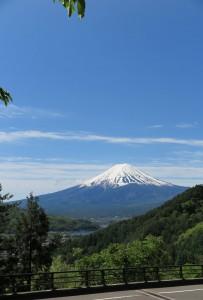 富士見橋からの富士山