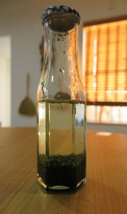 緑茶のオイル漬け