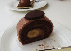 バナナチョコロール