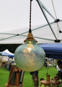 海の泡のランプ