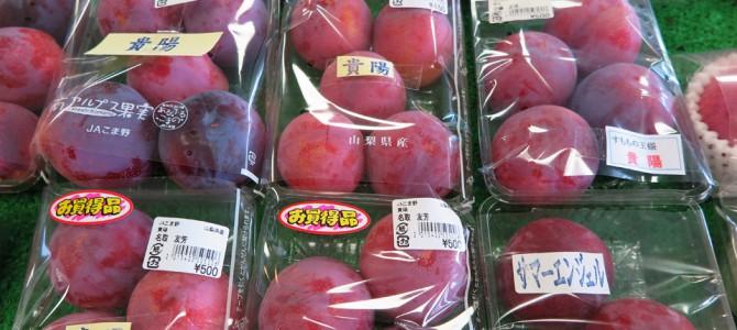 500円で桃食べ放題!! JAこまのはフルーツ王国