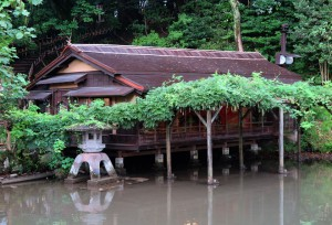三溪園の茶屋